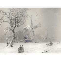 Aivazovsky Ivan | Айвазовский И. | Зимний Пейзаж