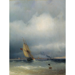 Aivazovsky Ivan | Айвазовский И. | Финский Залив