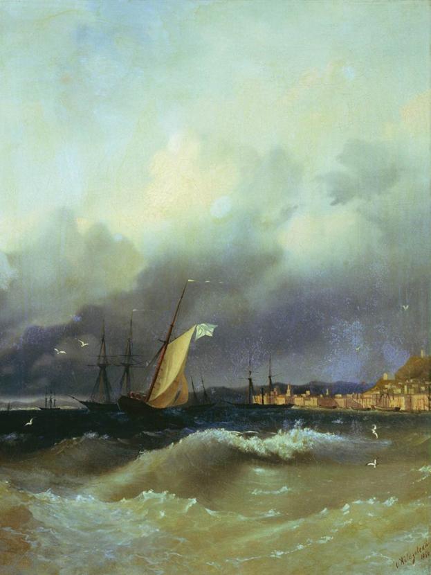 Aivazovsky Ivan | Айвазовский И. | Ночь на Черном Море