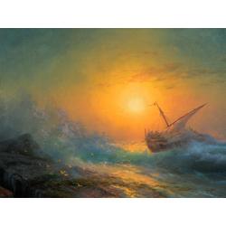 Aivazovsky Ivan | Айвазовский И. | Море, скалы