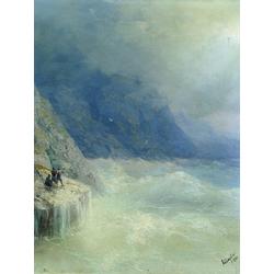 Aivazovsky Ivan | Айвазовский И. | Скалы в Тумане
