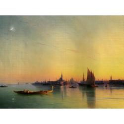 Aivazovsky Ivan | Айвазовский И. | Закат в Венеции