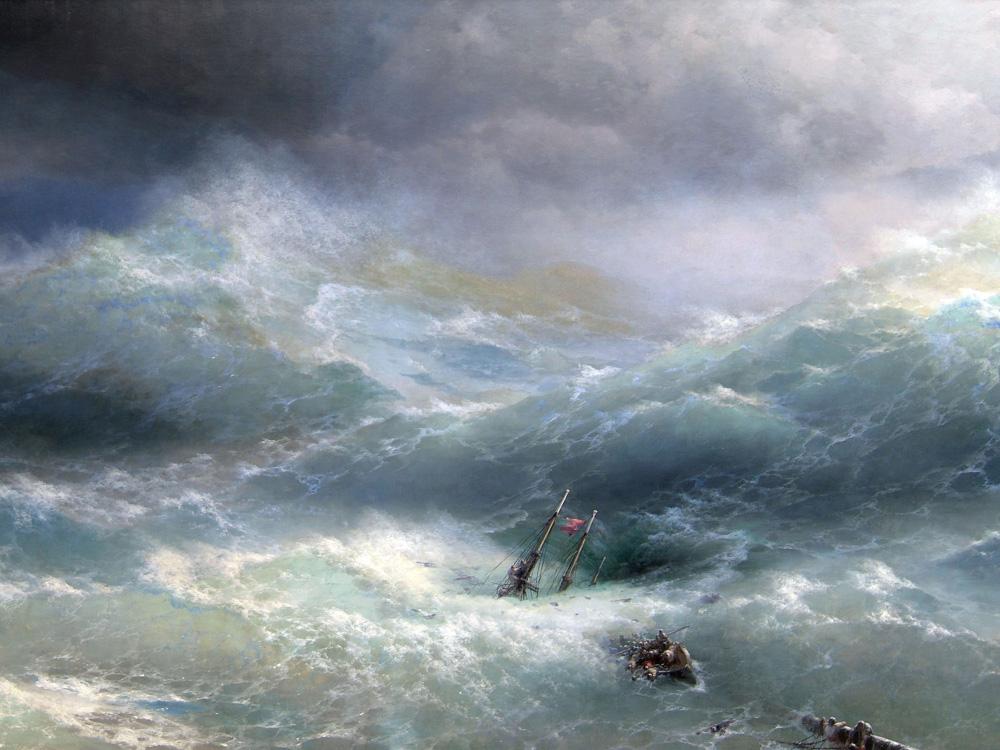 Aivazovsky Ivan | Айвазовский И. | Волна
