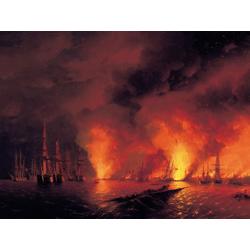 Aivazovsky Ivan | Айвазовский И. | Ночь после Боя