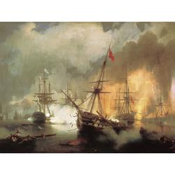 Aivazovsky Ivan | Айвазовский И. | Морское Сражение при Наварине
