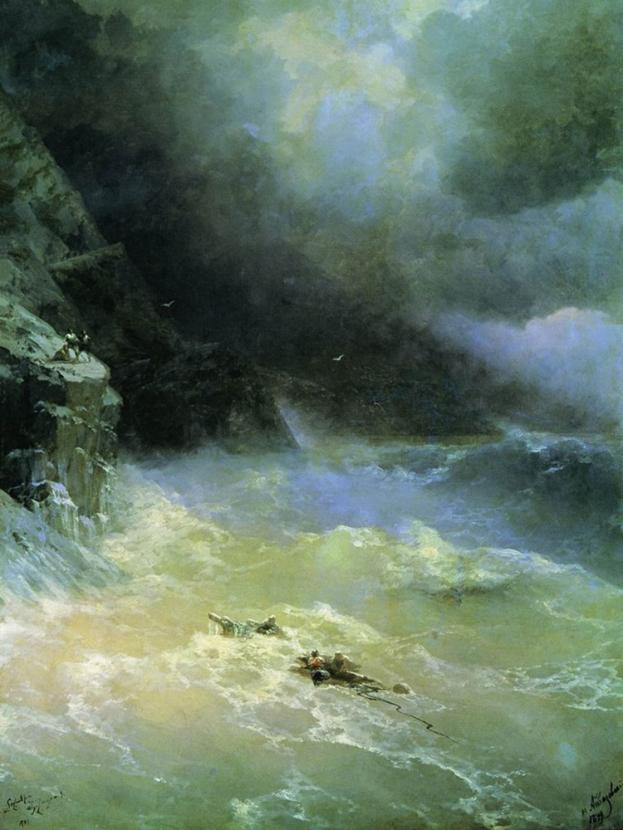 Aivazovsky Ivan | Айвазовский И. | Буря у Мыса