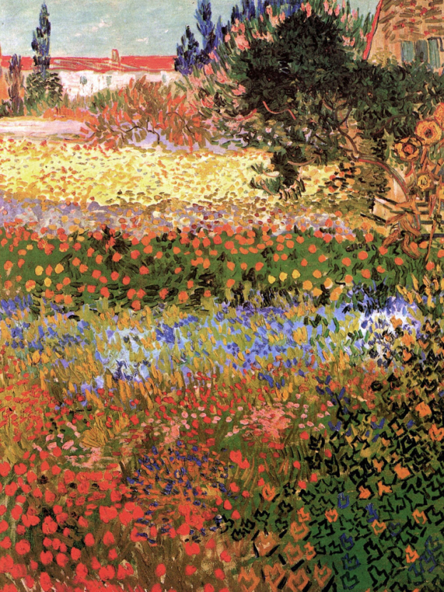 Van Gogh | Ван Гог | Цветущий сад