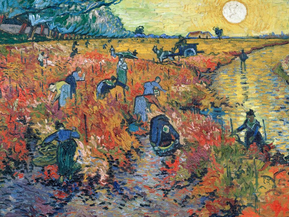 Van Gogh | Ван Гог | Виноградники Овера