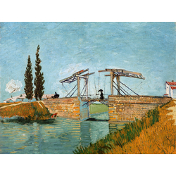 Van Gogh | Ван Гог | Langlois Bridge At Arles With Women Washing