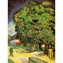 Van Gogh | Ван Гог - Цветущий каштан