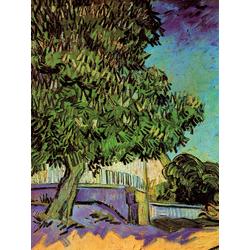 Van Gogh | Ван Гог | Цветущий каштан