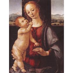 Leonardo Da Vinci | Мадонна Дрейфус