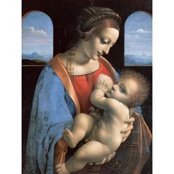 Leonardo Da Vinci | Мадонна Литта