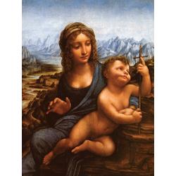 Leonardo Da Vinci | Мадонна с веретеном