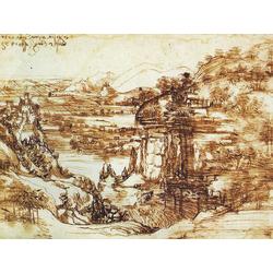 Leonardo Da Vinci | Пейзаж