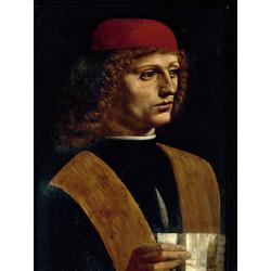 Leonardo Da Vinci | Портрет музыканта