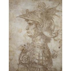 Leonardo Da Vinci | Профиль война в шлеме