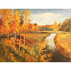 Levitan Isaak | Исаак Левитан | Золотая осень