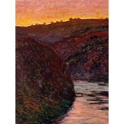 Monet Claude | Закат