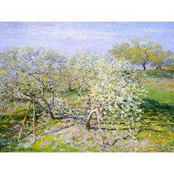 Monet Claude | Весна