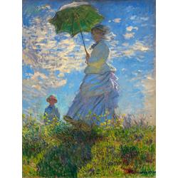 Monet Claude | Дама с зонтиком