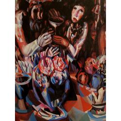 Filonov Pavel | Павел Филонов | Трое за столом