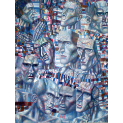 Filonov Pavel | Павел Филонов | Восемь голов