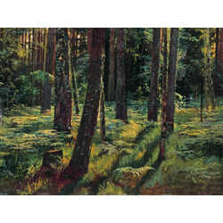 Shishkin Ivan | Шишкин Иван | Папоротники в лесу