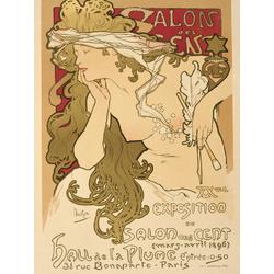 Mucha Alphonse | Nouveau Salon des Cent Giclee