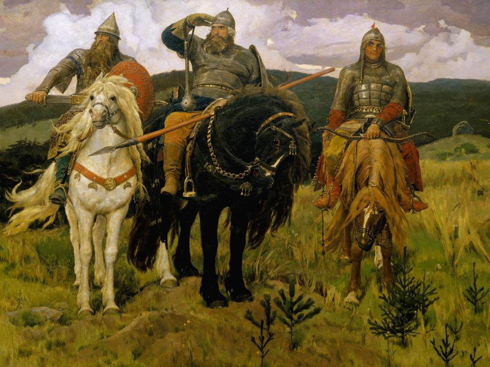 Vasnetsov Victor   Васнецов В.   Три богатыря