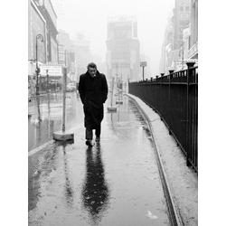 Dennis Stock | Джеймс Дин на Таймс Сквер в Нью Йорке