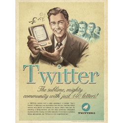 Social network: Twitter (Коллекция постеров) | Твиттер