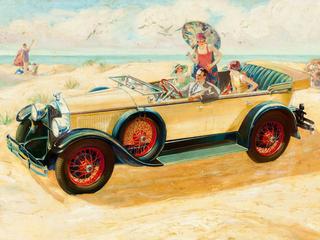 Категория постеров и плакатов Ретро автомобили