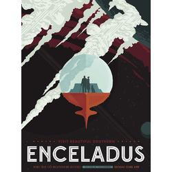 Enceladus | Энцелад: Спутник Сатурна