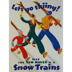 Snow Trains | Снежные Поезда