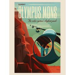 Space: Olympus Mons | Гора Олимп (Марс)