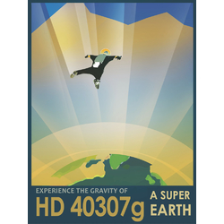 Space: HD 40307g | Экзопланета