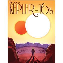 Space: Kepler 16b | Экзопланета