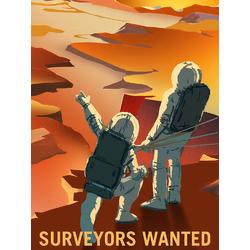 Space (Коллекция постеров): Surveyors Wanted | Требуются Геодезисты