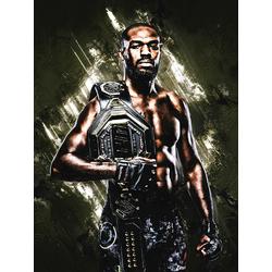 Fight collection (Коллекция постеров) - Jon Jones | Джон Джонс