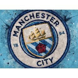 Collection of football clubs (Коллекция постеров №1) - Manchester City   Манчестер Сити