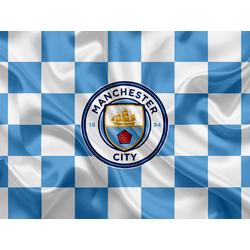 Collection of football clubs (Коллекция постеров №2) - Manchester City   Манчестер Сити