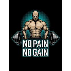 Bodybuilding - No pain No Gain   Бодибилдинг