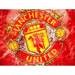 Collection of football clubs (Коллекция постеров №1) - Manchester United   Манчестер Юнайтед