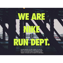 Nike | We are nike Run Dept
