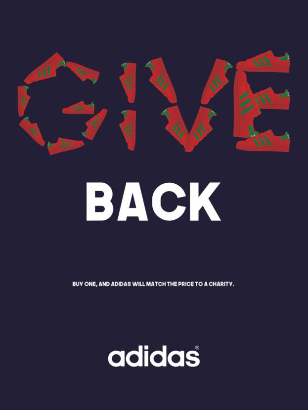 Adidas: GIVE Back