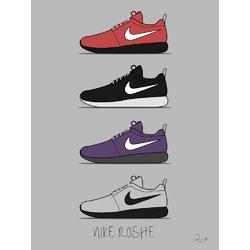 Sneakers Nike Roshe | Кроссовки Найк