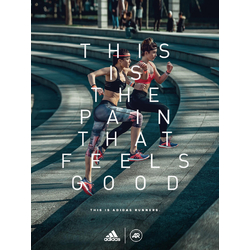 Adidas: This is the Pain that Feels Good