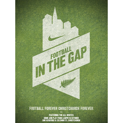 Nike: Football in the Gap | Найк