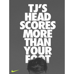 Nike: TJ's Head Scores More Than Your Foot | Найк